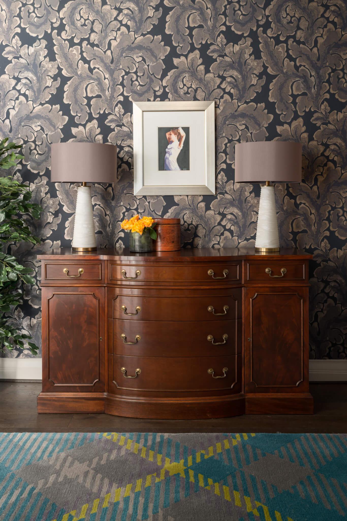 Print-Hall-Cabinet-Chelsea-Mclaine-Interiors-Introductory-Shoot-©ZACandZAC